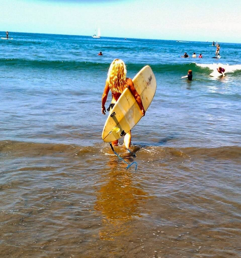 learning to surf at 46!