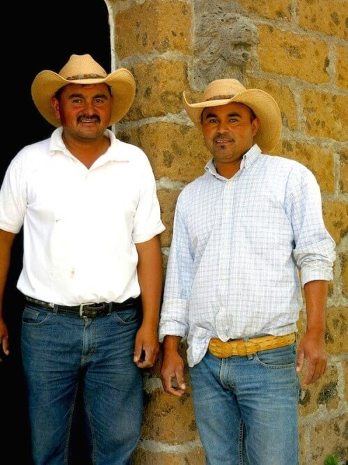 Brothers Mario & Rodo, our faithful leaders on our trail rides through the desert highlands of Central Mexico!