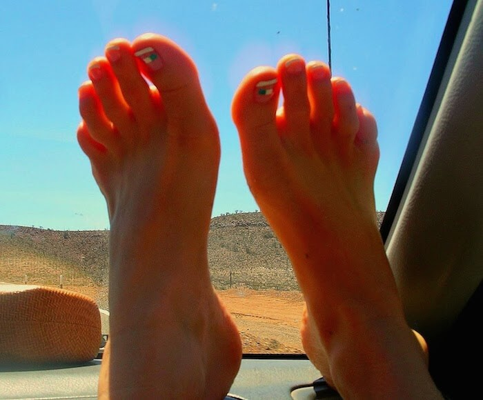 Mexico Toes