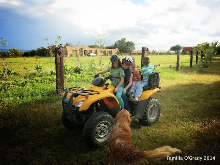Kids & Quads, Growing up in Mexico!