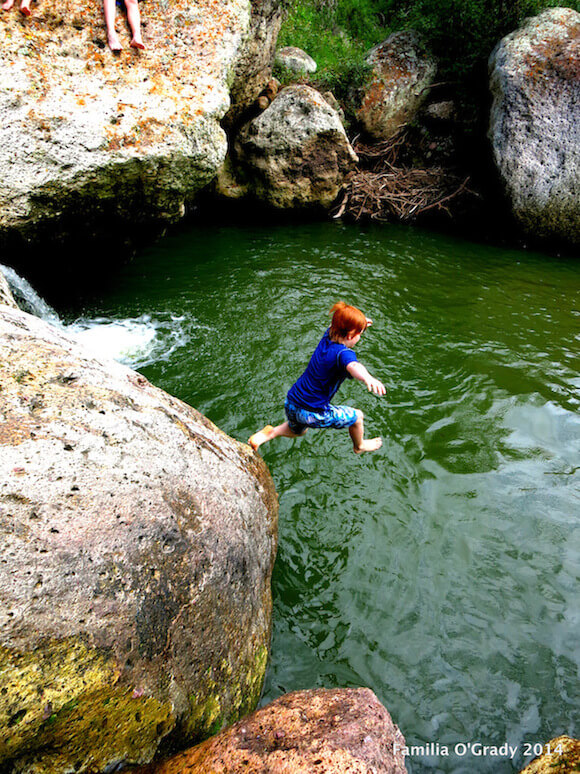 Liam Jumping In!