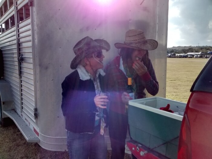 Holly & I After Ride San Marin 11-8-14