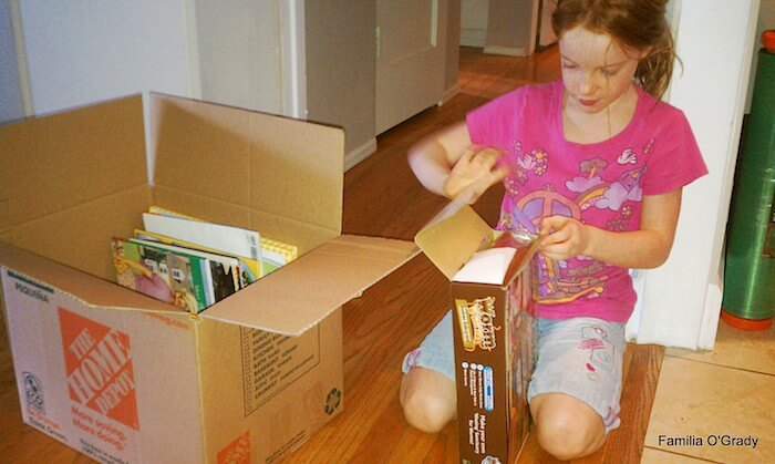 Mairead packing it up 2012 8 Years Old