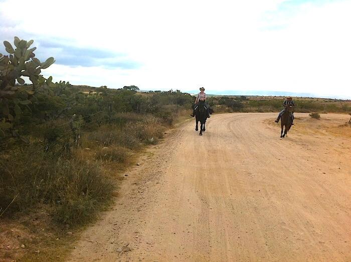 Rodo & I Running Horseback side by side