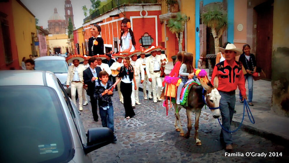 Wedding Celebration in the state of Guanajuato