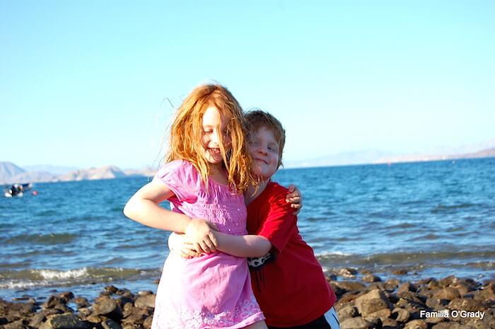 Mairead & Liam Baja 2010