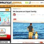 We became an Expat Family, as Seen on Elephant Journal
