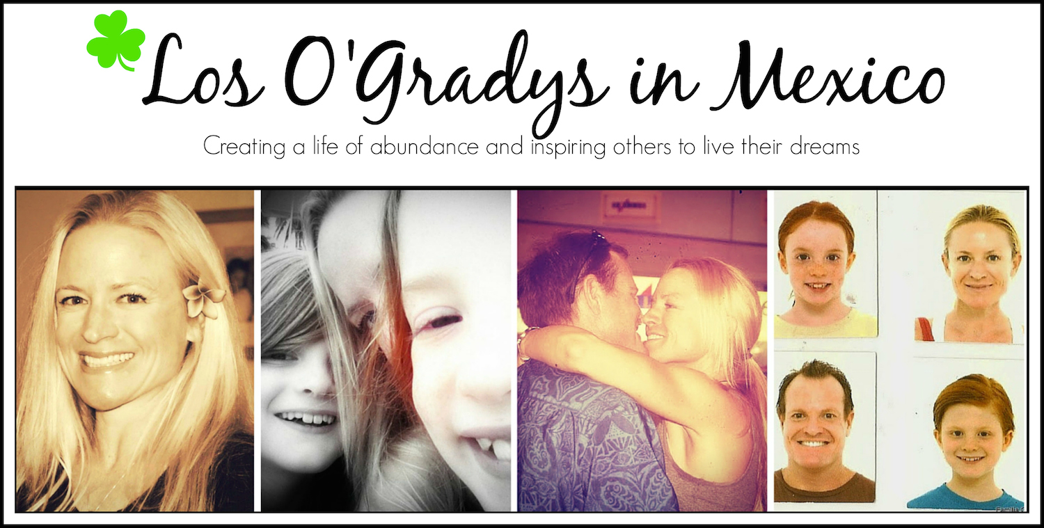 Los O'Gradys in Mexico header image