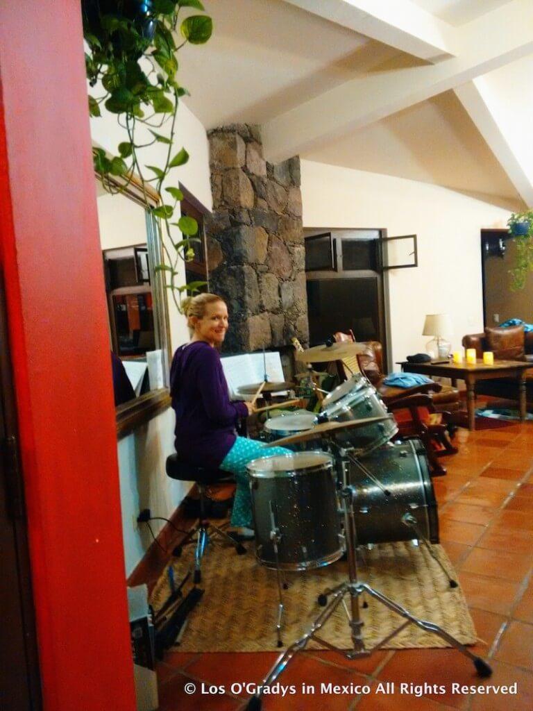 Nov. 7 2015 Playing Drums
