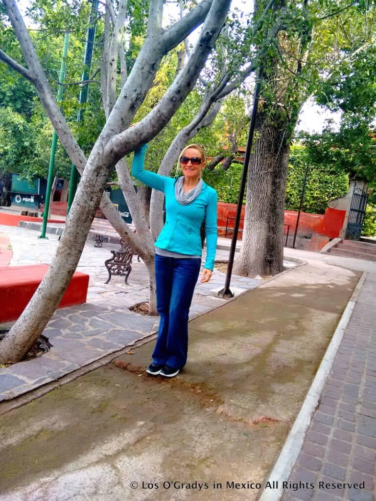 first steps parque juarez