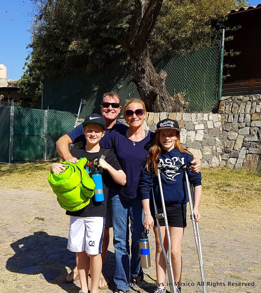 6th Grade Camp Drop-off, 30 Minutes Outside of Lake Chapala