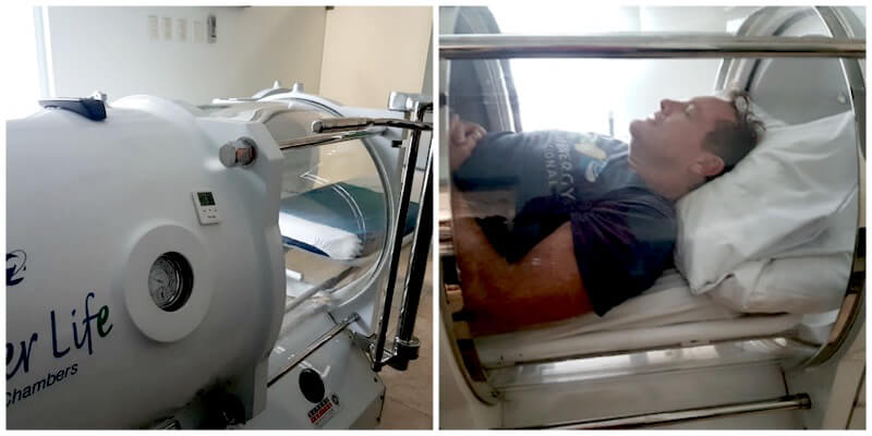 Hyperbaric Chamber~One of Two 80-Minute Treatments