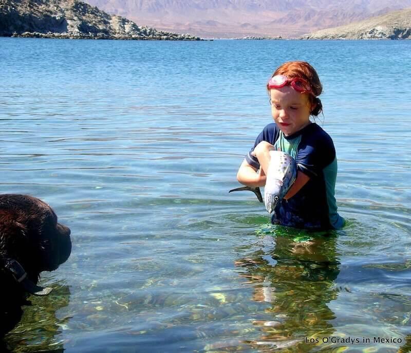Mairead & Seamus with Fish Baja